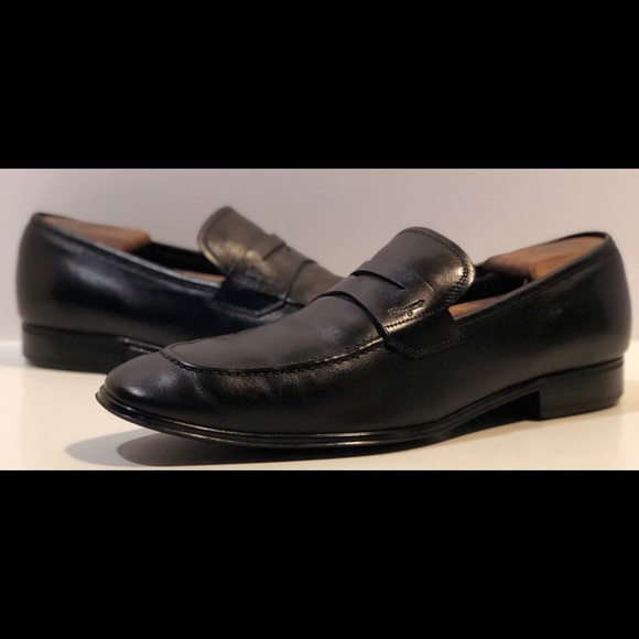 Salvatore Ferragamo Blk Leather Penny Loafer🔥🔥
